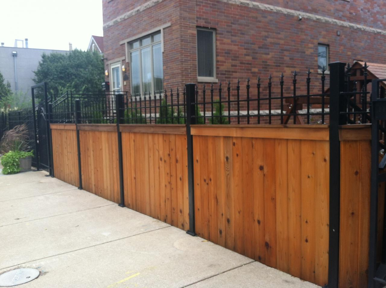 J franco steel porches wood and wrought iron fences
